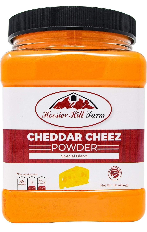 Hoosier Hill Farm Cheddar Cheez Powder, 1 Pound
