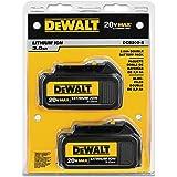 DEWALT DCB200-2 20-Volt MAX Li-Ion 3.0 Ah Battery 2-Pack