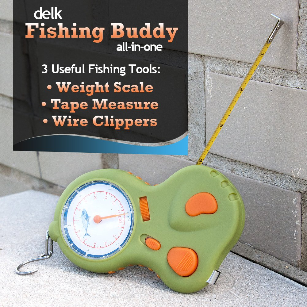 Amazon.com : New Delk Fishing Buddy All in One Wire clippers&weight ...