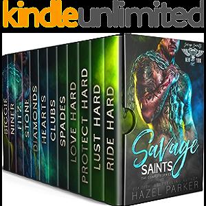 Savage Saints: The Complete Series: MC Alpha Male Romance Box Set