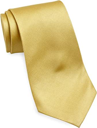 Gold Series by DXL Big and Tall Abstract Shaded Solid Tie
