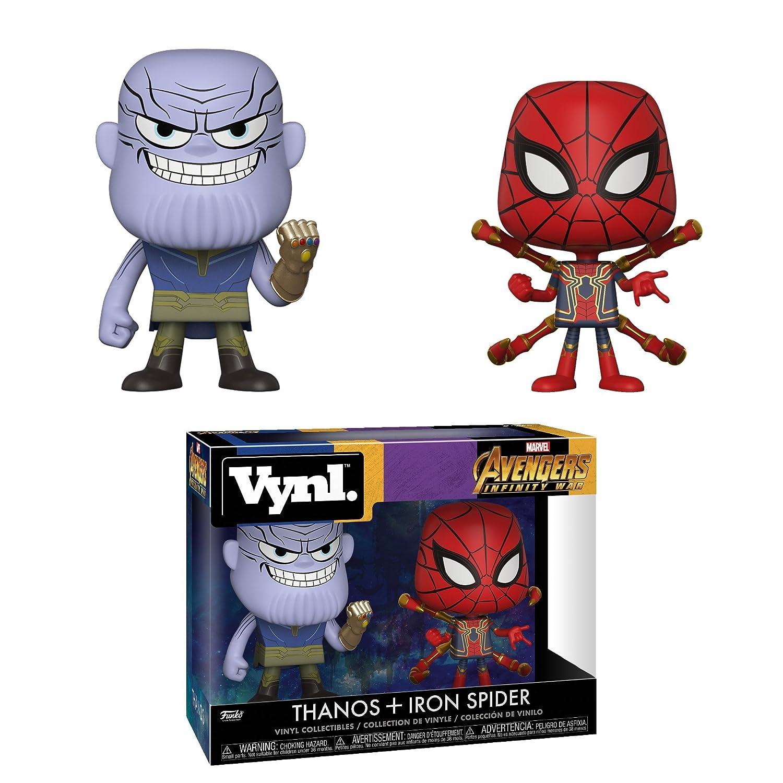 Thanos /& Iron Spider Avengers Infinity War Funko Vynl Marvel Multicolor 30932