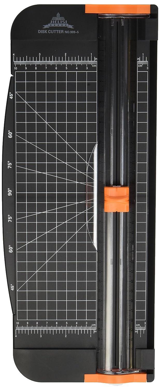 Jielisi Taglierina A4 30cm Titanium Scrapbooking Righello Multi Funzione e Sicurezza Automatica ghigliottina per Coupon Craft Etichetta di Carta o Foto nel Momento del Taglio (909-4, Bianco) Work4U-909-4W