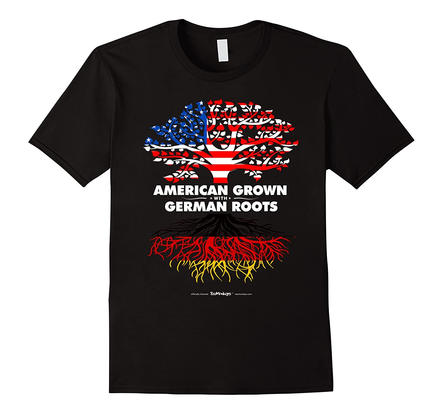 American Grown with German Germany Roots T-Shirt-CD