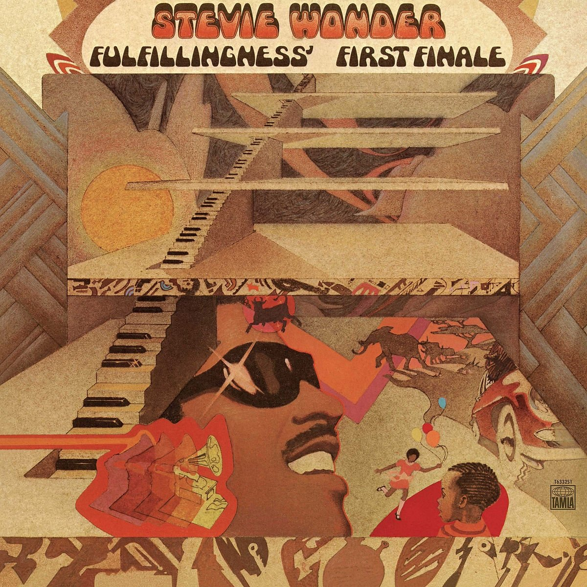 Vinilo : Stevie Wonder - Fulfillingness' First Finale (LP Vinyl)