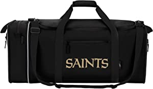 "Officially Licensed NFL Steal Duffel Bag, Multi Color, 28"" x 11"" x 12"""