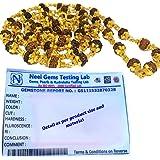 Discount4product brass & 72 rudraksha beads Rudraksha Mala for Men.