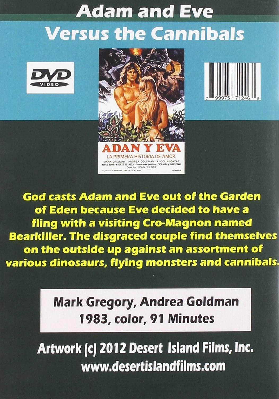amazon com adam and eve vs cannibals gregory goldman movies u0026 tv