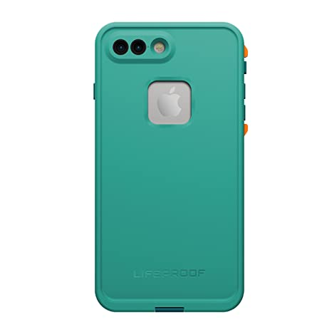 detailed look 5d4e6 f4333 LifeProof 77-53998 FRE SERIES Waterproof Case for iPhone 7 Plus (ONLY) -  Retail Packaging - SUNSET BAY (LIGHT TEAL/MAUI BLUE/MANGO TANGO)