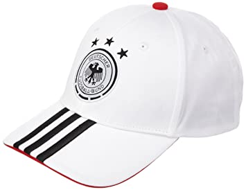 778d386fd38 adidas DFB German National Football Team 3 Stripe CAP White white black  Size OSFY