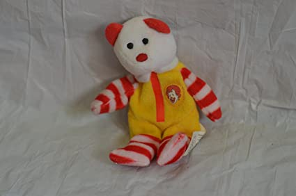 Image Unavailable. Image not available for. Color  Ty Teenie Beanie Ronald  McDonald the Bear 2e45804ea68