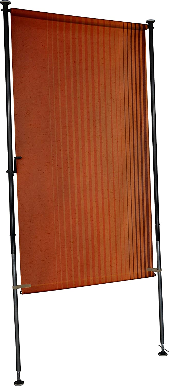 Angerer Balkon Sichtschutz Nr. 100 Orange, 150 cm breit, 2317 100