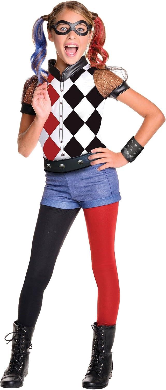 Rubies DC Superhero Girls Harley Quinn Costume Medium