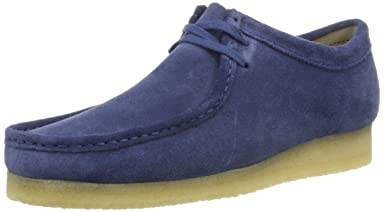 Wallabee: Night Blue Suede