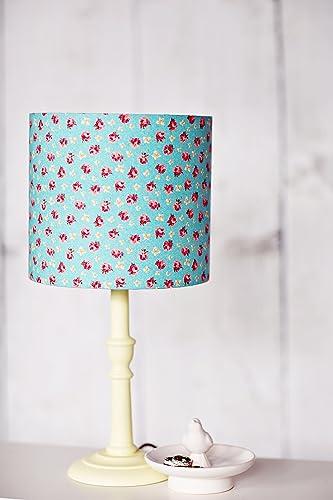 Amazon blue lampshade red rose lamp shade table lamp blue lampshade red rose lamp shade table lamp pendant light shabby chic aloadofball Gallery