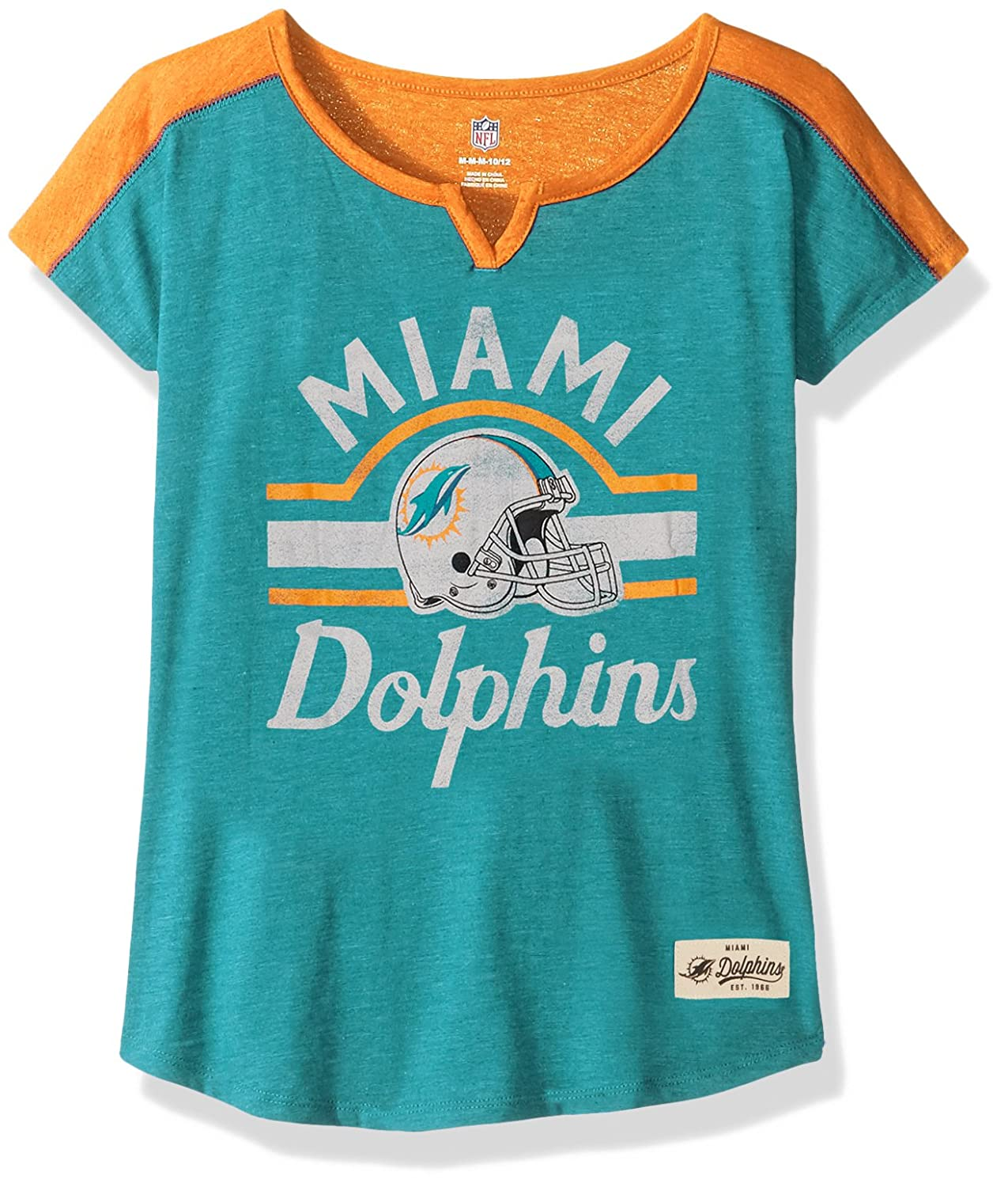 Outerstuff NFL Girls 7-16Tribute Football Tee