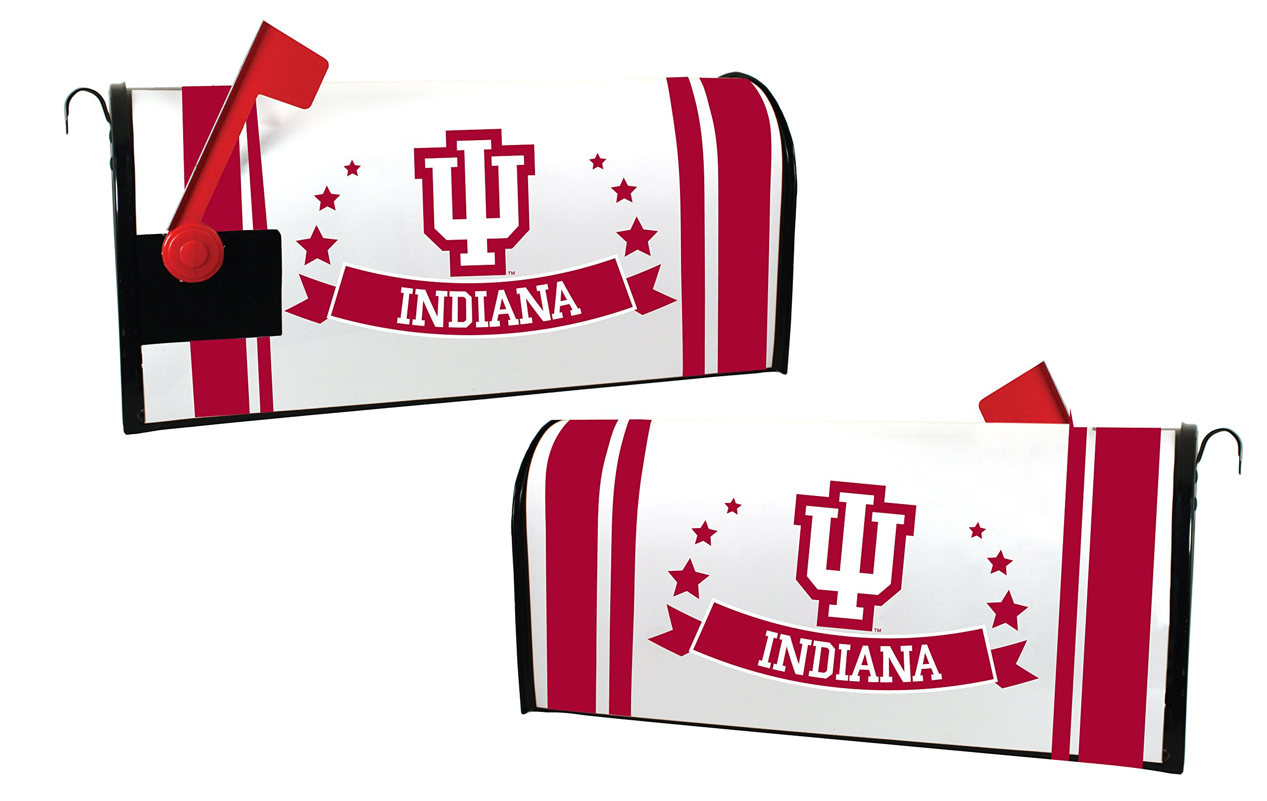 INDIANA HOOSIERS MAILBOX COVER-INDIANA UNIVERSITY MAGNETIC MAIL BOX COVER-NEW FOR 2016!