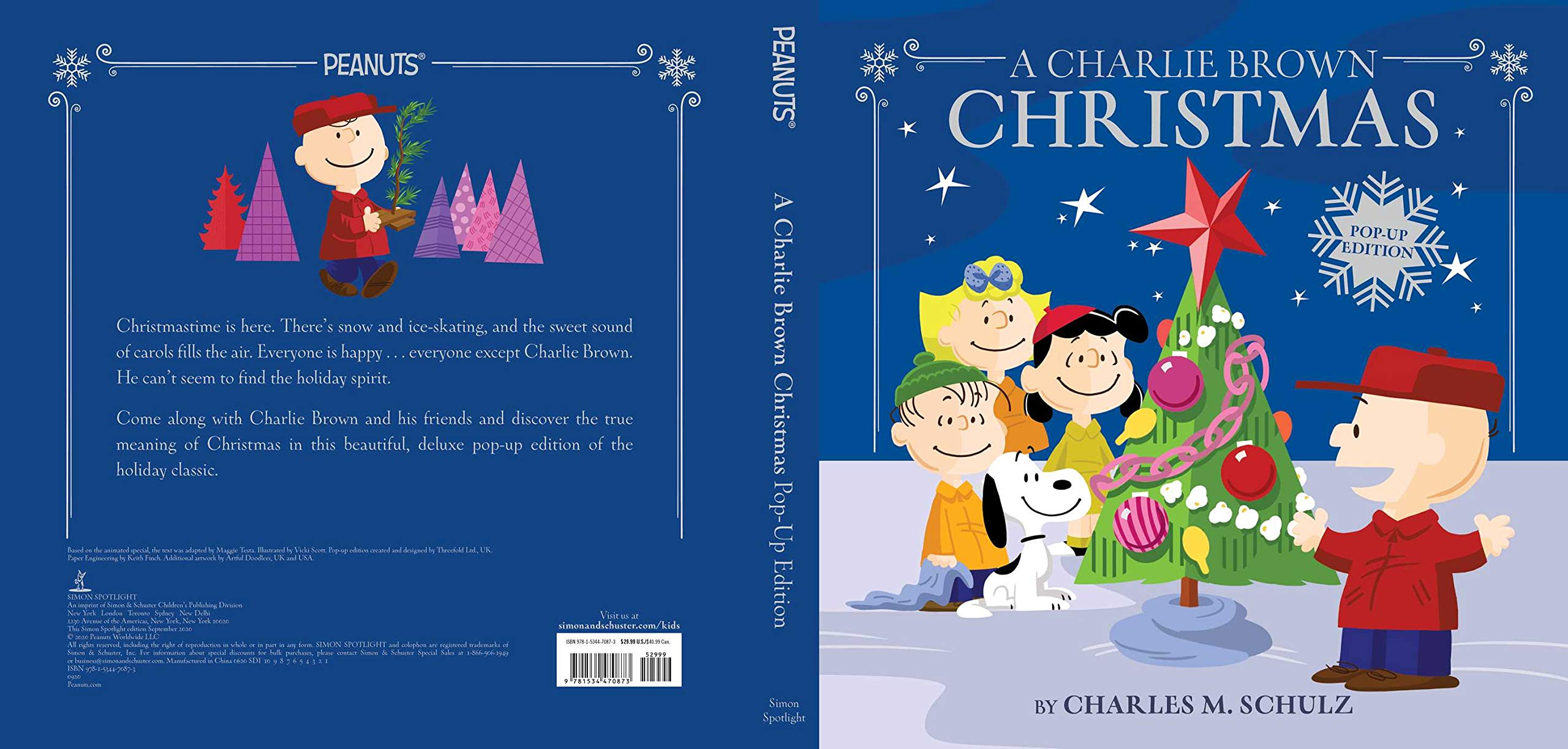 A Charlie Brown Christmas: Pop Up Edition (Peanuts): Testa, Maggie