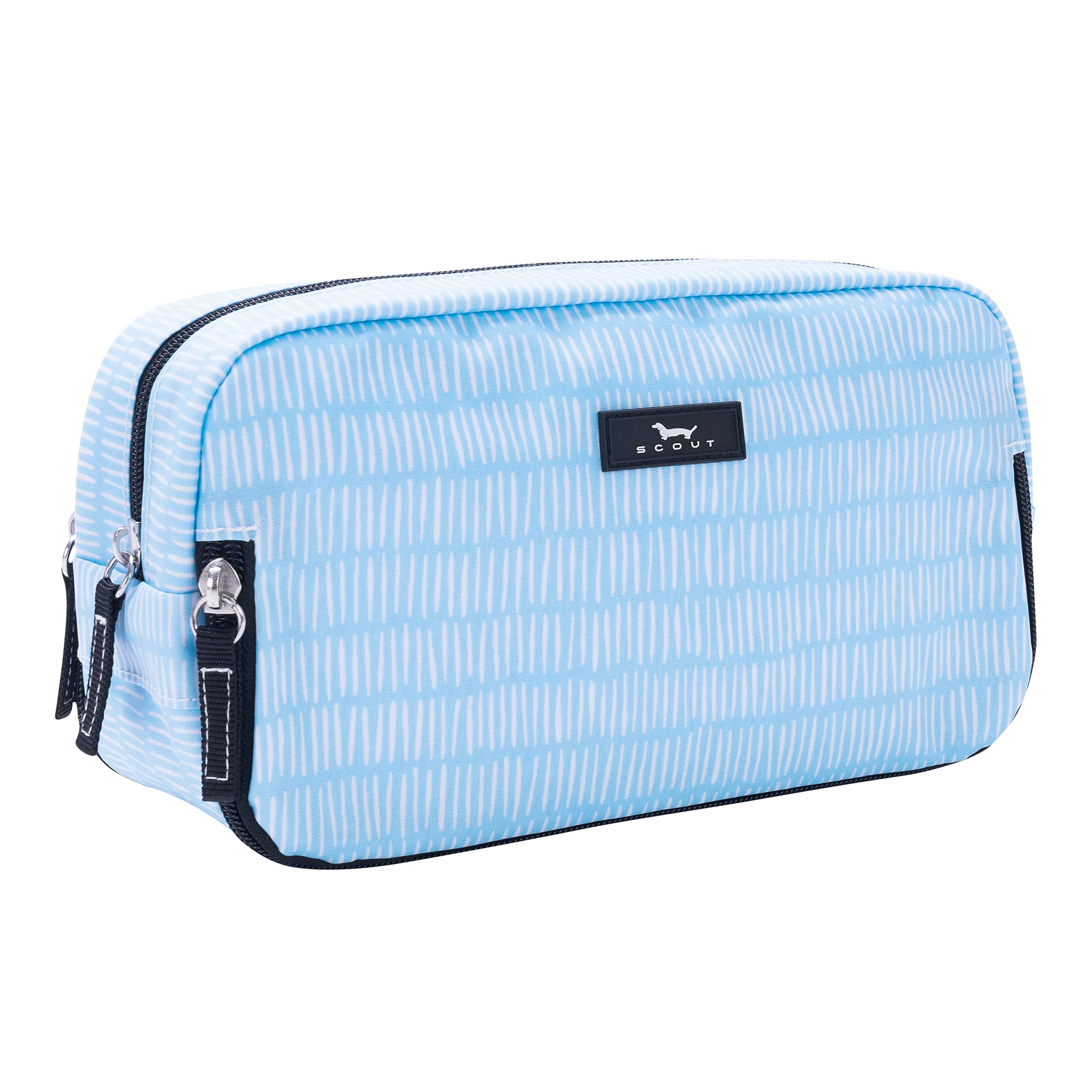 SCOUT 3-Way Bag, Toiletry & Cosmetic Multi Compartment Travel Organizer, 3 Zipper Compartments, Water Resistant, Tally Girl