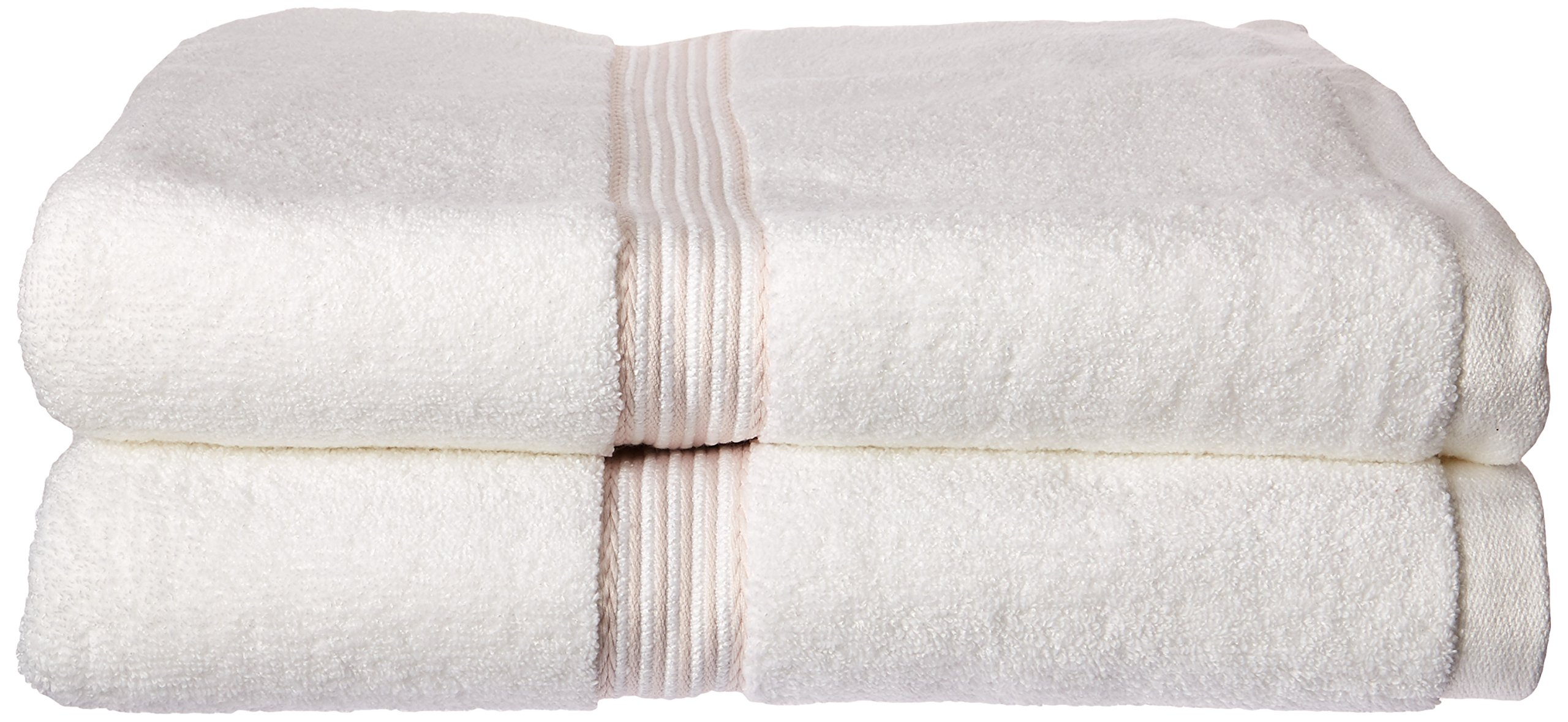 Everplush Classic Dobby Stripe Bath Towel, Set of 2, Rose - 2x bath towels (30 in x 56 in), 2x Hand towels (16 in x 30 in), 2x washcloths (13 in x 13 in) Powered by patented Everplush technology for always absorbent, long-lasting, quick-dry towels Soft cotton and microfiber construction instantly absorbs water - bathroom-linens, bathroom, bath-towels - 81jVXzp5GGL -