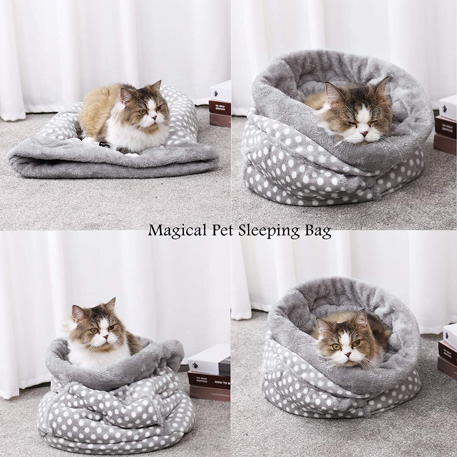 Amazon.com: Pet Magic Saco de dormir, Pawz Hoja de ultra ...