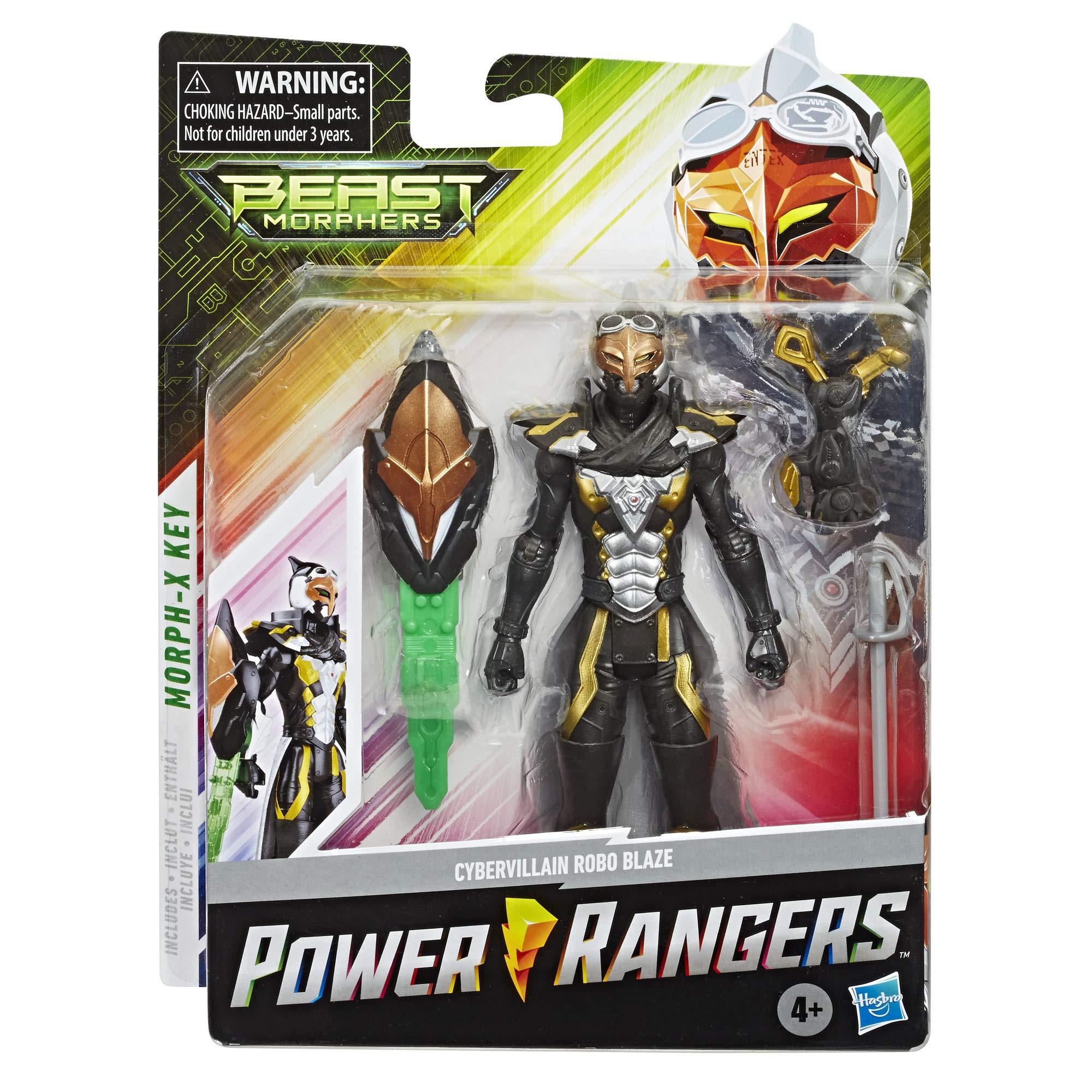 Power Rangers Micro Morphers Zords Series 1 Tronic Morph-X Jax Beastbot