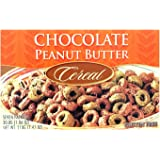 Healthwise - Chocolate Peanut Butter Protein Cereal | 7/Box | High Protein, Low-Carb, Gluten Free, 1 gram of Sugar, Hunger Co