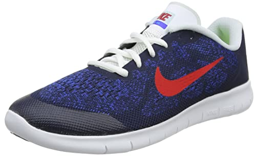 Nike Free RN 2017 (GS), Zapatillas de Entrenamiento para Niños, Azul (Obsidian/University Red-Racer Photo Blue 405), 40 EU: Amazon.es: Zapatos y ...