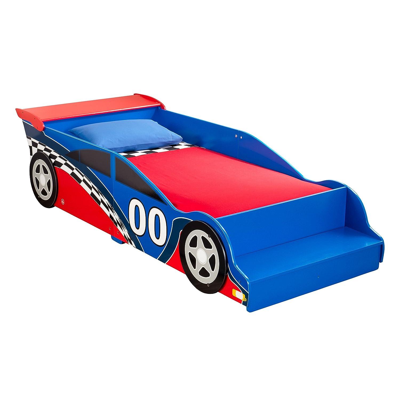 Amazon.com: KidKraft Race Car Toddler Bed: Toys & Games