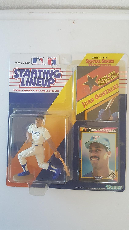 1992 Starting Lineup Juan Gonzalez Texas Rangers