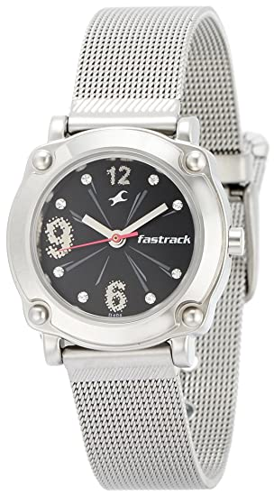 3118142a9 Buy Fastrack Hip Hop Analog Black Dial Women s Watch - NE6027SM02 Online at  Low Prices in India - Amazon.in