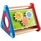 Hape Take-Along Wooden Toddler Activity Skill Building Box
