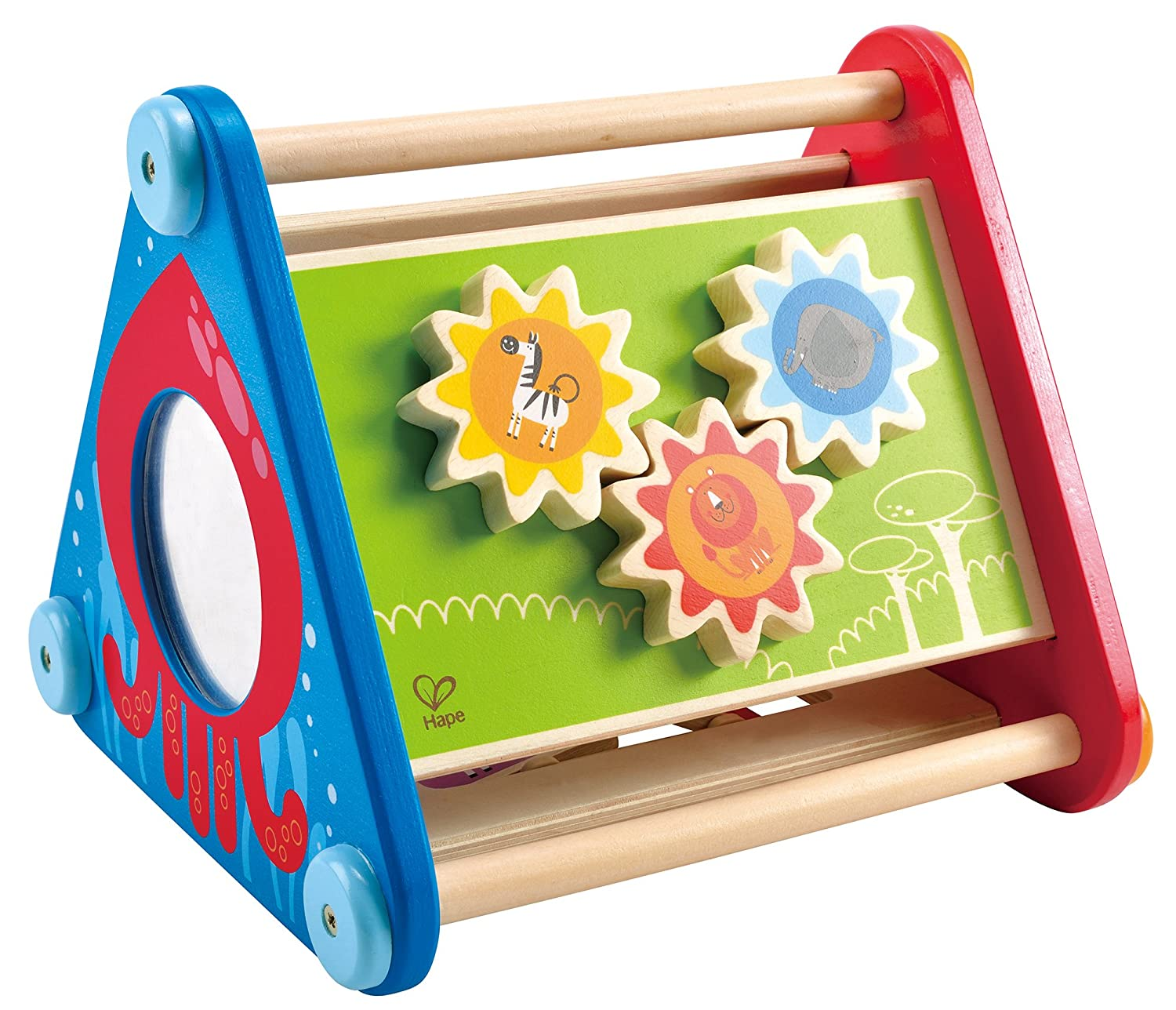 Amazon Hape Take Along Wooden Toddler Activity Skill Building