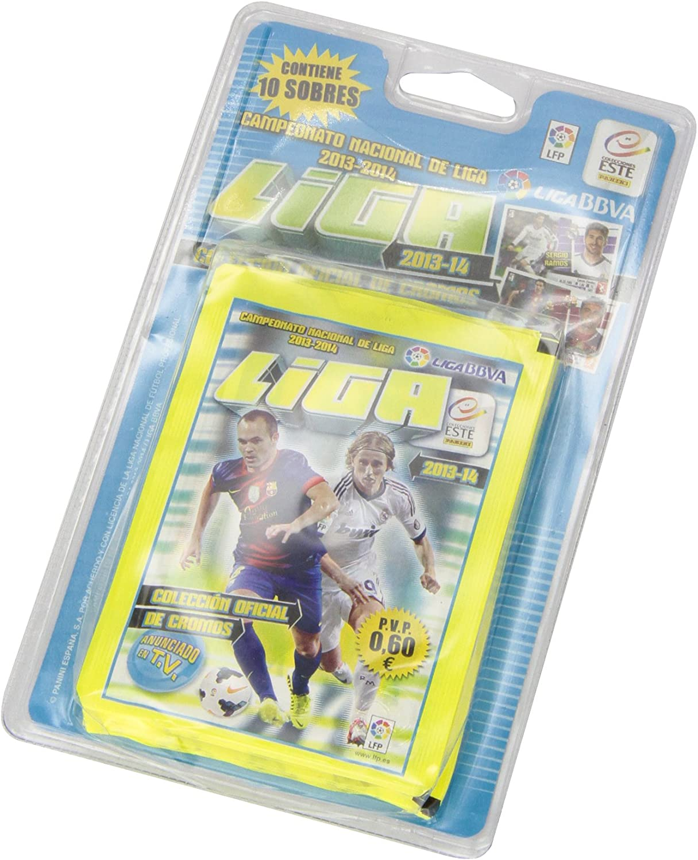 Panini - Liga Este 2013-2014, blíster con 10 Sobres de cromos (002531BLIE): Amazon.es: Juguetes y juegos