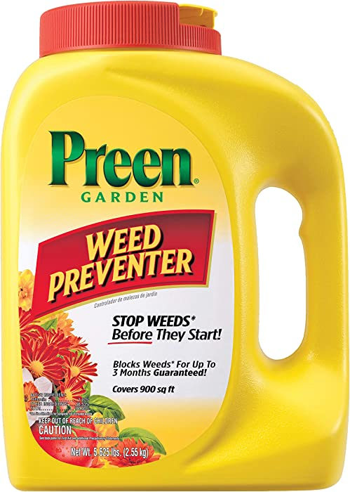 Top 7 Preen Weed For Garden