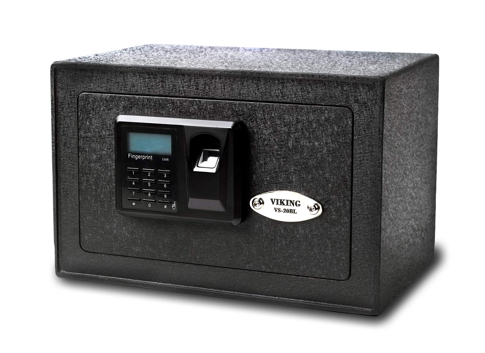 Viking Security Safe VS-20BLX Mini Biometric Safe Fingerprint Safe by Viking Security Safe