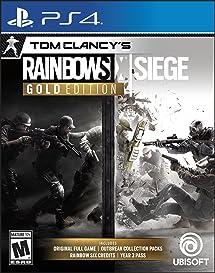 Amazon com: Tom Clancy's Rainbow Six Siege - Year 3 Gold