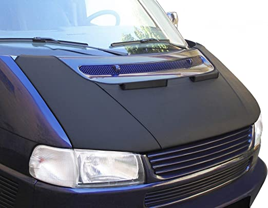 Bonnet Bra T4 GP Facelift Stoneguard Hood Stone Protection Black Front End Mask Cover Tuning NEW