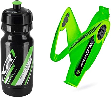 Raceone.it - Kit Race Duo X5 Gel (2 PCS): Porta Bidon X5 + Bidon ...