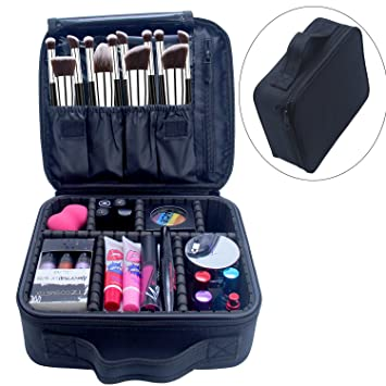 Portable Makeup Case Chomeiu 9 Inch Makeup Organizer EVA Makeup Artist  Storage For Cosmetics, Makeup