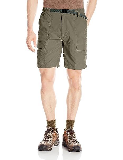 7f36968e55 Amazon.com : White Sierra Safari II Shorts : Clothing