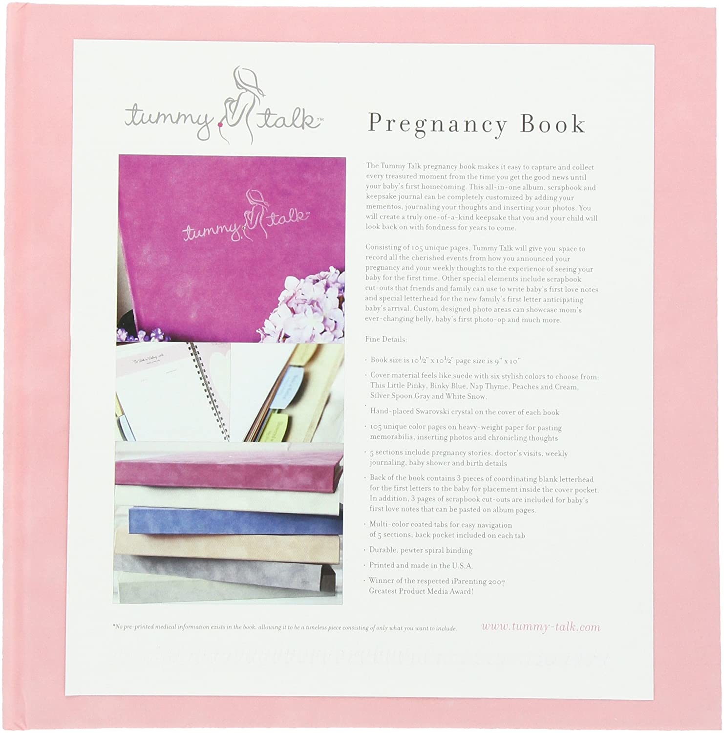 Tummy Talk Pregnancy Journal Album, Nap Thyme 094922694492