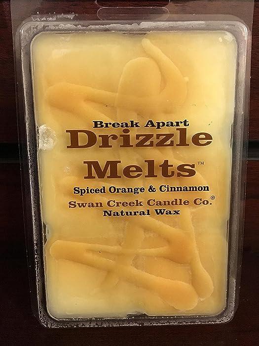 1 X Swan Creek Drizzle Melts- Spiced Orange & Cinnamon