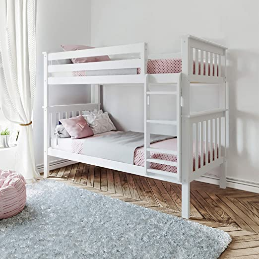 Solid White Bunk Beds Cheaper Than Retail Price Buy Clothing Accessories And Lifestyle Products For Women Men