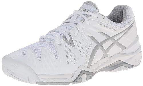 tenis blancos mujer asics