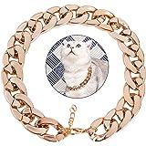 Legendog Dog Neck Chain Pet Chain Collar Fashion Cool Plastic Pet Chain Necklace for Cat Dog