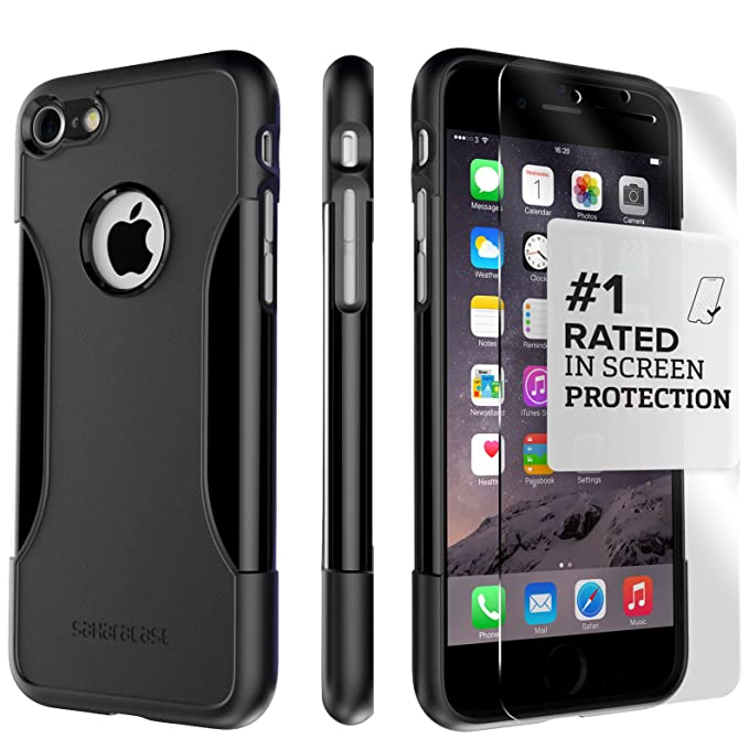 iphone 8 case glass screen protector