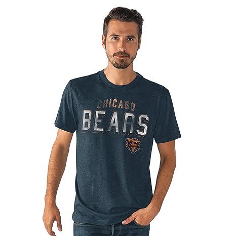 2aff2aade Amazon.com   Chicago Bears Men s Lineup Tri-Blend T-shirt Medium ...