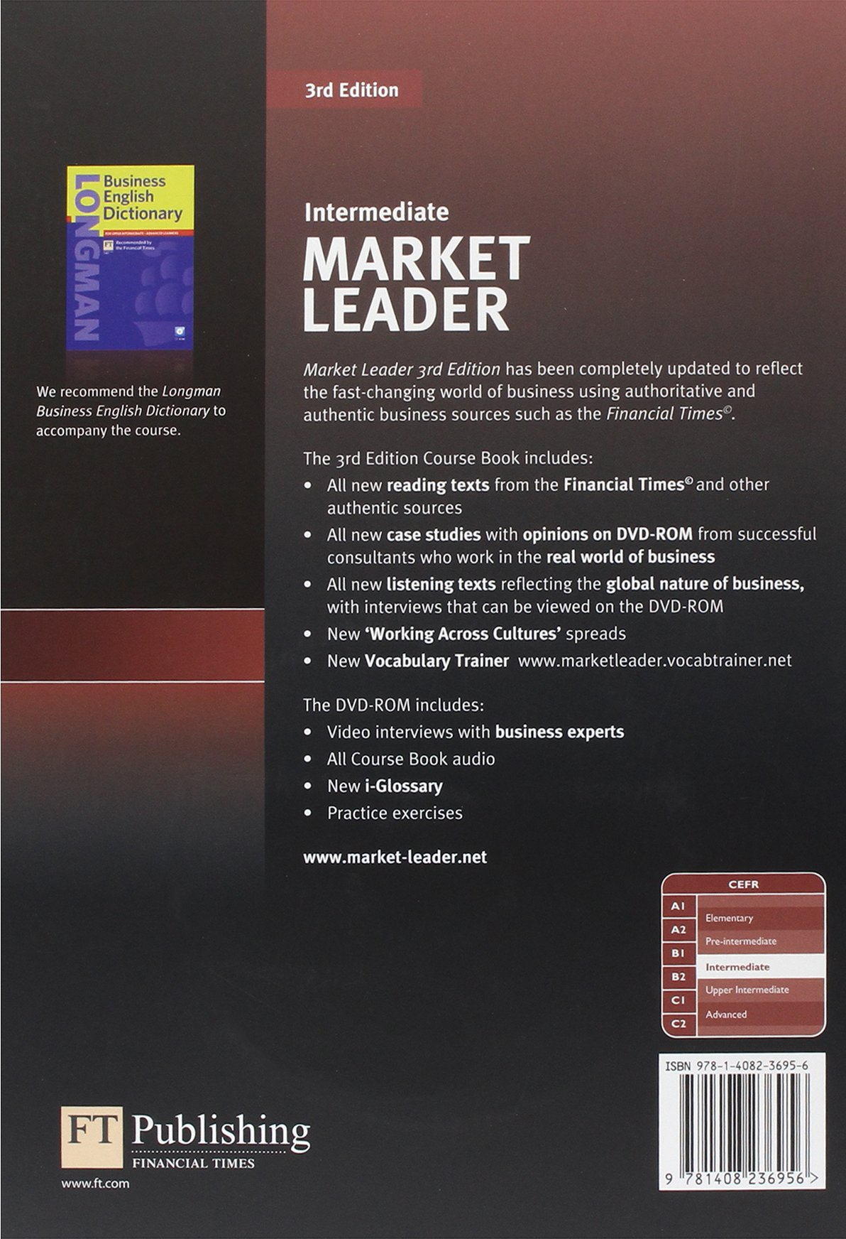 Market leader 3rd edition intermediate coursebook dvd rom pack market leader 3rd edition intermediate coursebook dvd rom pack amazon mr david cotton mr david falvey simon kent 9781408236956 books fandeluxe Images