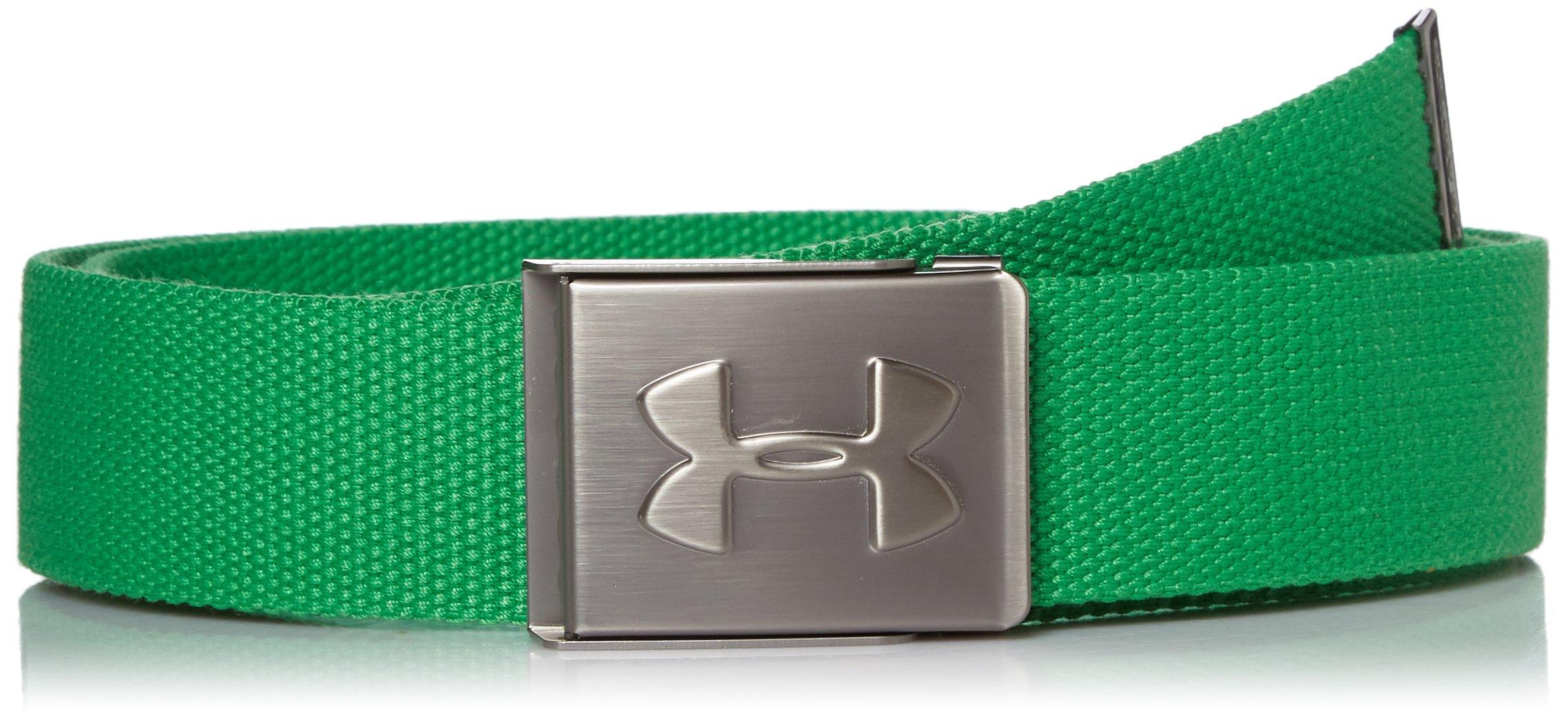Under Armour Golf Men's Webbed Belt (Putting Green) by Under Armour